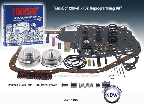 200/4R-HD2, 2004R-hd2, transgo, shift kits, best transmission parts, 200R4 upgrades, Billet servo