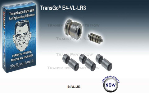 E4-VL-LR3, Transgo, 36741EAKT, Transmission parts, best transmission parts, 4R100, E4OD, E40D, Shift kit, upgrades