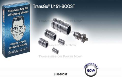 Transgo, U151 Boost, U151-Boost, U150, U151, U250, Valve body, Transmission, Transmission repairs
