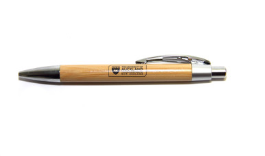 University of Auckland branded Bamboo Pen