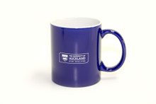 Traditional Logo Mug Blue