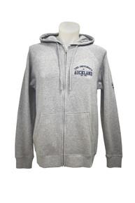 Varsity Grey Zip Hoodie Unisex