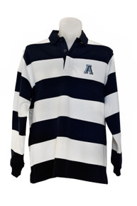 Striped Rugby Jersey 2021 Navy/White