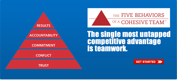 5 Behaviors of a Cohesive Team Building Training and Tools from Davis Success Solutions