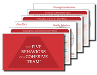 The Five Behaviors of a Cohesive Team Take Away Cards