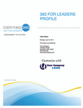Everything DiSC 363 for Leaders Profile + Formal Debrief