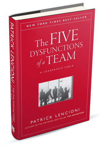 The Five Dysfunctions of a Team Book - 2019 cover