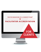 The Five Behaviors of a Team Facilitator Accreditation (Webinar)