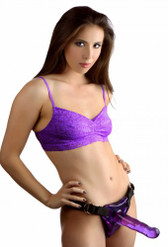 Easy Rider Universal Strap On Dildo Harness- Purple