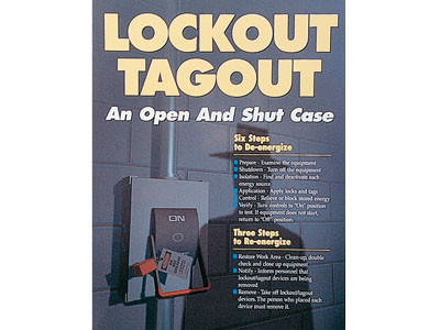 Lockout/Tagout: An Open & Shut Case