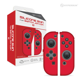 Silicone Skins for Joy-Con® (Neo Red) - Hyperkin