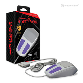 Hyper Click Retro Style Mouse for SNES - Hyperkin
