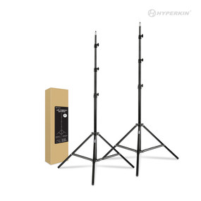 VR Tripod Stand for HTC Vive Base Stations 1.0 and 2.0/ Oculus Rift Constellation (2-Pack) - Hyperkin
