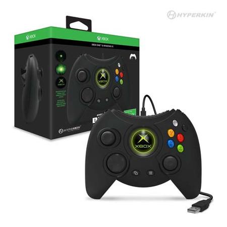 Duke Wired Controller for Xbox One/ Windows 10 PC (Black) - Hyperkin (M01668)
