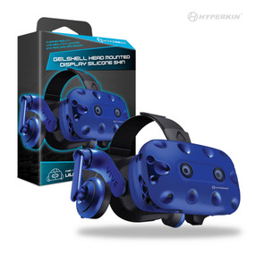 Bumps and scratches are never in style. Protect your technology with the Hyperkin GelShell Head Mounted Display Silicone Skin for HTC Vive Pro. The silicone skin provides protection for your VR device against the wear and tear of daily usage. Protect your HMD and your wallet with Hyperkin!     •             Protects against bumps and scratches  •             Allows clear sensor functionality  •             Multiple colors available