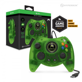 Hyperkin Duke Wired Controller for Xbox One/ Windows 10 PC (Green Limited Edition) - Hyperkin - Officially Licensed by Xbox