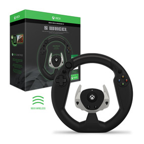 S Wheel Wireless Racing Controller (with Game Pass) For Xbox One - Hyperkin - Officially Licensed By Xbox