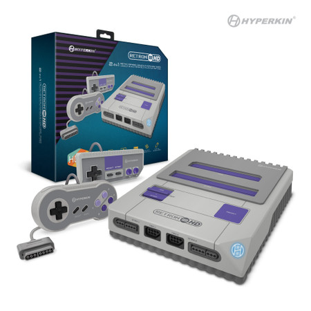 RetroN 2 HD Gaming Console for SNES/ NES (Gray) (M02888-GR)