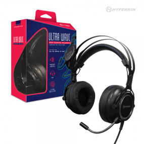 """Ultra Wave"" USB Gaming Headset for PS4®/ PS3®/ Nintendo Switch®/ PC/ Mac® - Hyperkin"