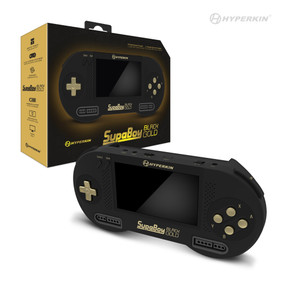 SupaBoy BlackGold Portable Pocket Console for Super NES®/Super Famicom™ - Hyperkin