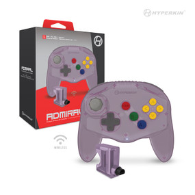 """Admiral"" Premium BT Controller For N64®/ Nintendo Switch®/ Nintendo Switch® Lite/ PC/ Mac®/ Android® (Amethyst Purple) - Hyperkin"