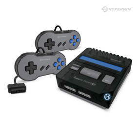 SupaRetroN HD Gaming Console For Super NES®/ Super Famicom™ (Space Black) - Hyperkin