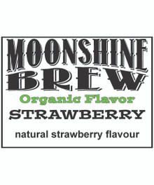MOONSHINE BREW STRAWBERRY - E-Juice - E-Liquid - Electronic Cigarettes - ECig - Vape - Vapor - Vaping - Pickering - Ajax - Whitby - Oshawa - Toronto - Ontario - Canada