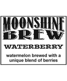MOONSHINE BREW WATERBERRY - E-Juice - E-Liquid - Electronic Cigarettes - ECig - Ejuice - Eliquid - Vape - Vapor - Vaping - Pickering - Ajax - Whitby - Oshawa - Toronto - Ontario - Canada