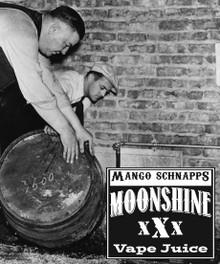 MOONSHINE BREW MANGO SCHNAPPS - E-Juice - E-Liquid - Electronic Cigarettes - ECig - Vape - Vapor - Vaping - Pickering - Ajax - Whitby - Oshawa - Toronto - Ontario - Canada