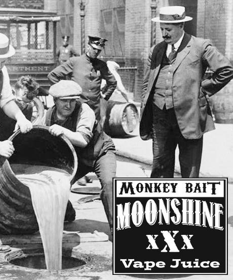 MOONSHINE BREW MONKEY BAIT - E-Juice - E-Liquid - Electronic Cigarettes - ECig - Vape - Vapor - Vaping - Pickering - Ajax - Whitby - Oshawa - Toronto - Ontario - Canada