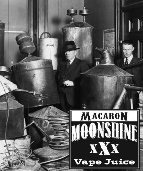 MOONSHINE BREW MACARON - E-Juice - E-Liquid - Electronic Cigarettes - ECig - Vape - Vapor - Vaping - Pickering - Ajax - Whitby - Oshawa - Toronto - Ontario - Canada
