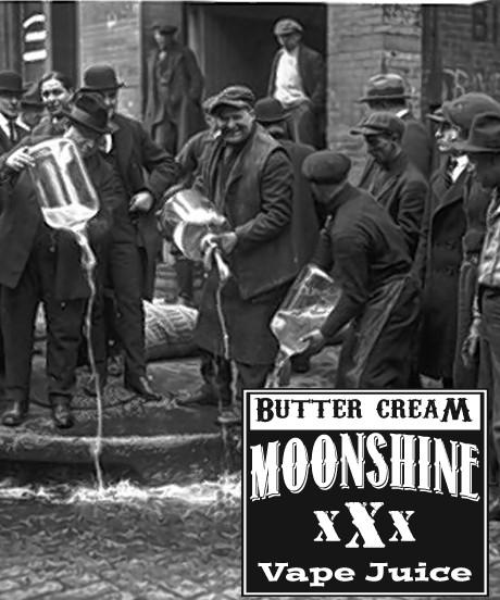 MOONSHINE BREW BUTTER CREAM - E-Juice - E-Liquid - Electronic Cigarettes - ECig - Vape - Vapor - Vaping - Pickering - Ajax - Whitby - Oshawa - Toronto - Ontario - Canada