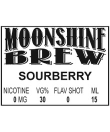 MOONSHINE BREW SOURBERRY - E-Juice - E-Liquid - Electronic Cigarettes - ECig - Ejuice - Eliquid - Vape - Vapor - Vaping - Pickering - Ajax - Whitby - Oshawa - Toronto - Ontario – Canada