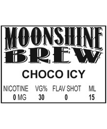 MOONSHINE BREW CHOCO ICY - E-Juice - E-Liquid - Electronic Cigarettes - ECig - Ejuice - Eliquid - Vape - Vapor - Vaping - Pickering - Ajax - Whitby - Oshawa - Toronto - Ontario – Canada