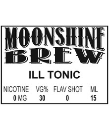 MOONSHINE BREW ILL TONIC - E-Juice - E-Liquid - Electronic Cigarettes - ECig - Ejuice - Eliquid - Vape - Vapor - Vaping - Pickering - Ajax - Whitby - Oshawa - Toronto - Ontario – Canada
