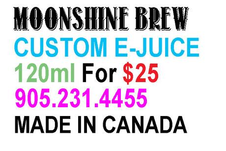 EDMONTON VAPE SHOP E-Cigarette & E-Juice Store - Moonshine Brew
