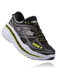 Hoka Men's Stinson 3 Anthracite/ Acid