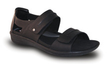Revere Mens Cairns black Sandal