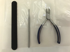 Susol Nail Care Kit - Nail Cutters, Blacks File, Emery Board