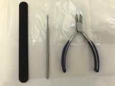 Susol Nail Care Kit - Nail Cutters, Blacks File, Emery Board