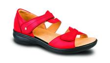 Revere Geneva Red Sandal