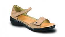 Revere Women's Bali Grey Nubuck Sandal