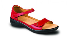 Revere Bali Women's Sandal Red - 34BALIREDW