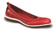 Revere Women's Charlotte Ballet Flat Red Mesh - 33CHARREDW