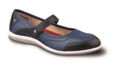 Revere Women's Adelaide Navy Mary Jane