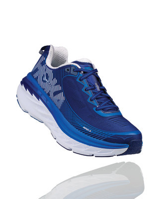 Hoka Men's Bondi 5 Blueprint/ White
