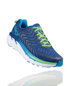 Hoka Men's Clifton  4 True Blue/Jasmin Green
