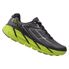 Hoka Men's Clifton 3 Blue Graphite/ Bright Green