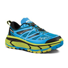 Hoka Men's Mafate Speed Cyan/Lime/Black