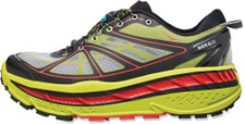 Hoka Men's Stinson ATR Lime/Black/Red